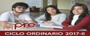 MATRICULA CICLO ORDINARIO 2017-II