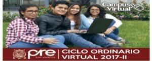 MATRICULA CICLO ORDINARIO VIRTUAL 2017-II