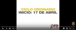 ¿Quieres inscribirte en el Ciclo Ordinario?