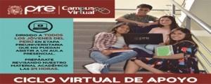 MATRICULA CICLO VIRTUAL DE APOYO 2018-I