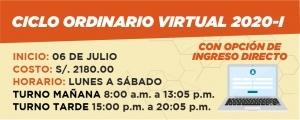 CICLO ORDINARIO VIRTUAL 2020-I