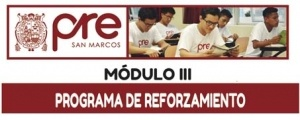 MATRICULA CICLO REFORZAMIENTO MODULO III
