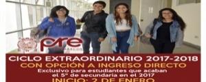 MATRICULA CICLO EXTRAORDINARIO 2017-2018