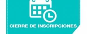 CIERRE DE INSCRIPCIONES CICLO ORDINARIO 2017-I